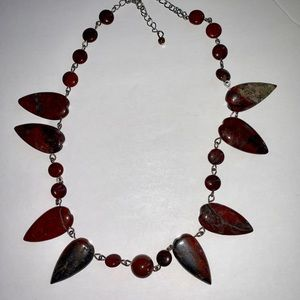 Stunning Agate Stone Necklace
